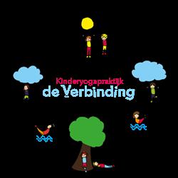 Kinderyogapraktijk De Verbinding logo print