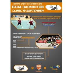 Badminton Club Epe (BC Epe) logo print