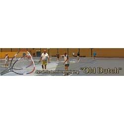 Dynamic Tennisvereniging  logo print