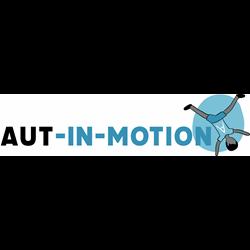 Aut in motion logo print