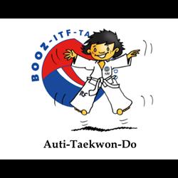 Auti-Taekwondo logo print