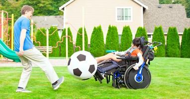 Afbeelding Sporten met een ernstige meervoudige beperking?