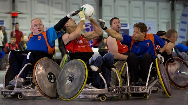 Niet voor watjes: rolstoelrugby! afbeelding nieuwsbericht