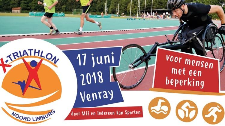 Doe mee aan de X-triathlon in Venray! afbeelding nieuwsbericht