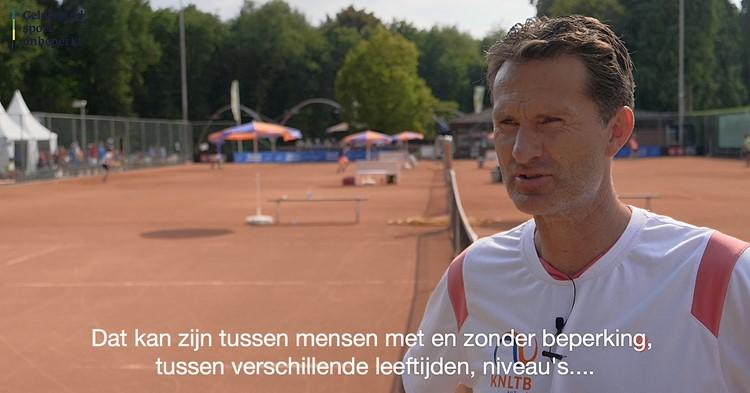 Tennisser Jacco Eltingh blij met inclusie in de sport! afbeelding nieuwsbericht