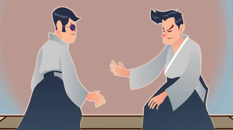 Aikido voor mensen met een visuele beperking afbeelding nieuwsbericht