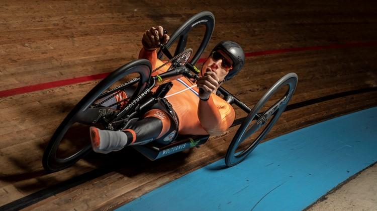 Jetze Plat wil de snelste handbiker ooit worden afbeelding nieuwsbericht