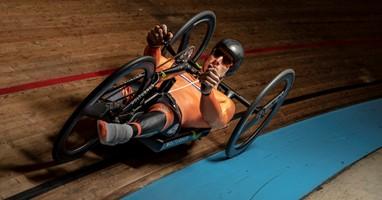 Afbeelding Jetze Plat wil de snelste handbiker ooit worden