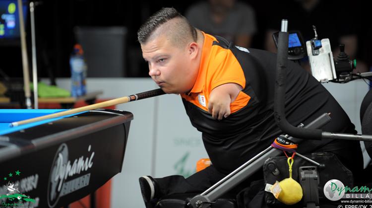 Eerste Nederlandse rolstoelbiljarter in jaren op EK! afbeelding nieuwsbericht