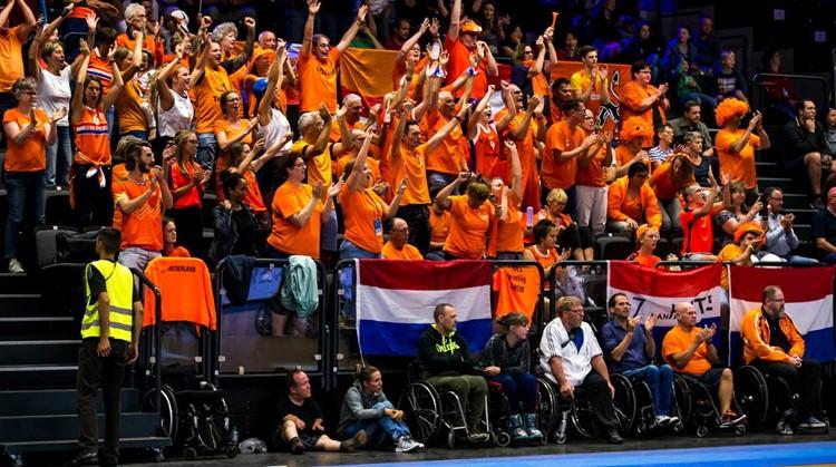 EK rolstoelbasketbal in Nederland! afbeelding nieuwsbericht