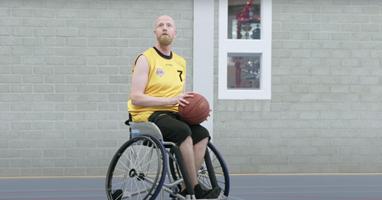 Afbeelding Hoe Mark zijn passie voor rolstoelbasketbal vond