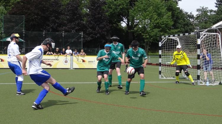 Probeer Blindenvoetbal in Amsterdam, Zeist en Barendrecht. Geef je op! afbeelding nieuwsbericht