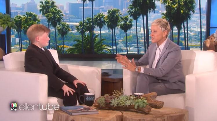 Alex (12) krijgt 25.000 dollar van Ellen DeGeneres om app voor gehandicapten te maken afbeelding nieuwsbericht