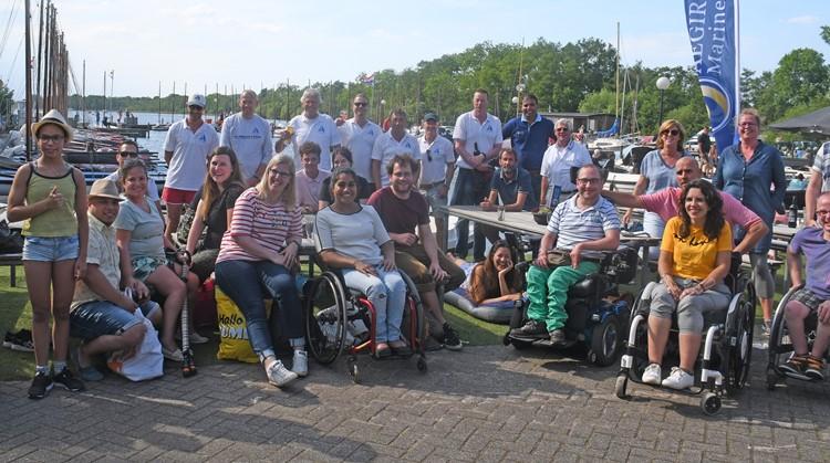 Sailability Zeildag met Roos Prommenschenckel en haar vrienden afbeelding nieuwsbericht