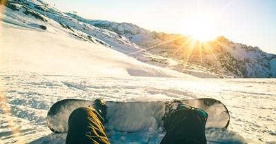 Hoe je blind toch de reuzenslalom op je snowboard maakt afbeelding nieuwsbericht