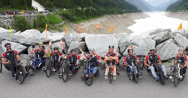 Handbikers Team Capital Reade bedwingen berg van 20 km bij Handbike Battle! afbeelding nieuwsbericht