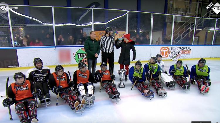 Para-Icehockey battle bij Zappsport! afbeelding nieuwsbericht