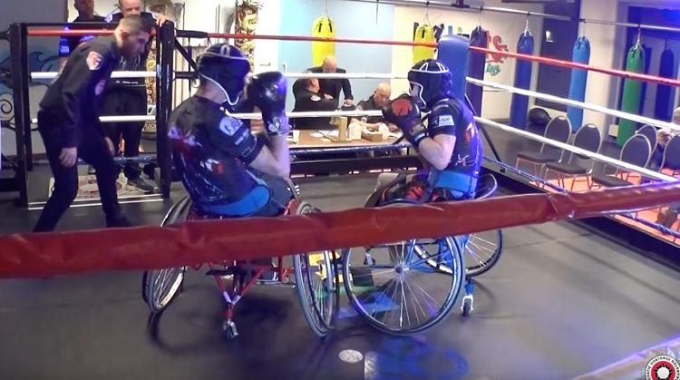 Boksen in een rolstoel afbeelding nieuwsbericht