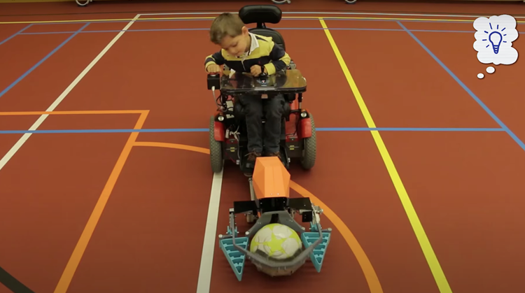 Nieuwe sport in ontwikkeling: rolstoelvoetbal afbeelding nieuwsbericht