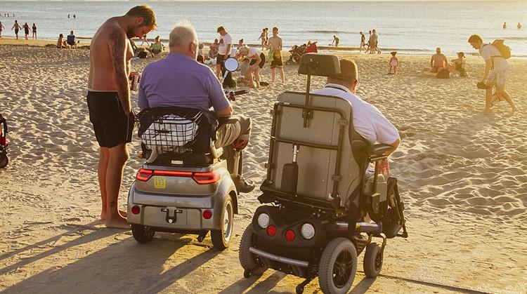 De kust is een toegankelijk strand rijker! afbeelding nieuwsbericht