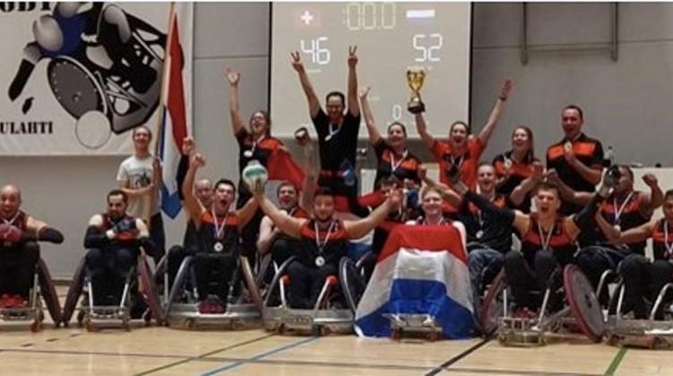 Overweldigende EK-zege voor Nederlands rolstoelrugby team afbeelding nieuwsbericht