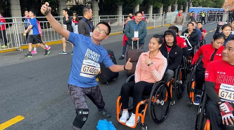 Gu rijdt voor derde keer rolstoelmarathon afbeelding nieuwsbericht