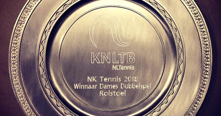 Nationale titel dubbelspel voor Marjolein Buis en Diede de Groot! afbeelding nieuwsbericht