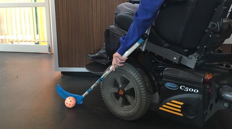 E-hockey: teamsport met je eigen elektrische rolstoel afbeelding nieuwsbericht