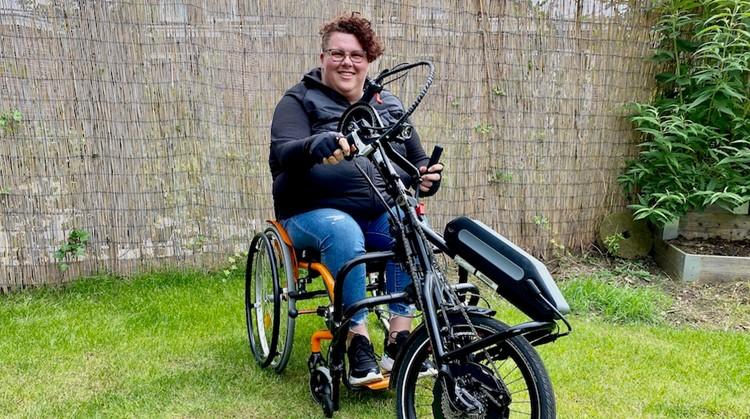 """""""Met de handbike kan ik mezelf weer uitdagen"""" afbeelding nieuwsbericht"""