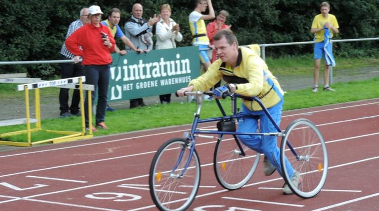 Jeroen was de eerste in Nederland met een racerunner afbeelding nieuwsbericht