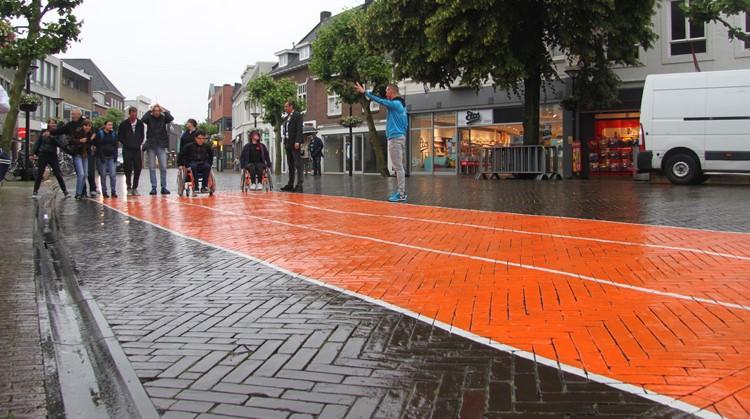 Nu ook een Uniek Sporten Brabant-atletiekbaan in centrum Oss afbeelding nieuwsbericht
