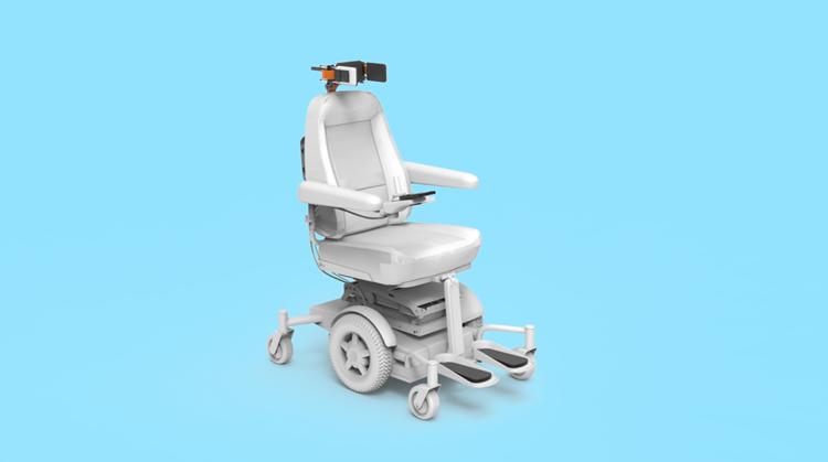 Dit is pas een slimme rolstoel! afbeelding nieuwsbericht