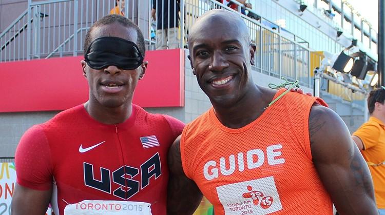 Blinde sprinter David moest even zonder buddy afbeelding nieuwsbericht