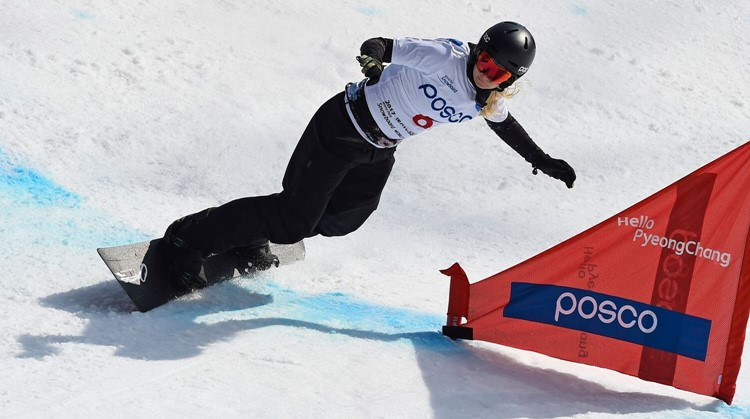 Lisa gebruikt al haar zintuigen tijdens het snowboarden afbeelding nieuwsbericht