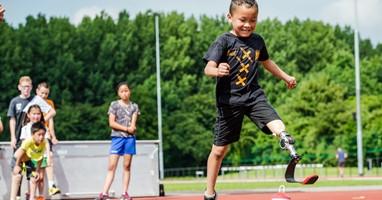 Afbeelding Het para-atletiek zomerkamp komt eraan!
