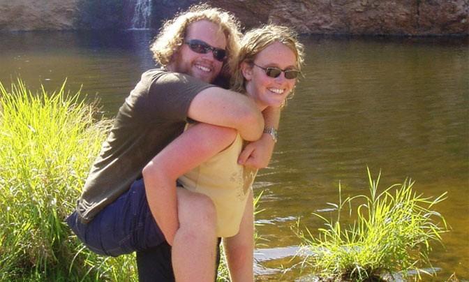 Kevin (dwarslaesie) ging met zijn vriendin op reis door Australië afbeelding nieuwsbericht