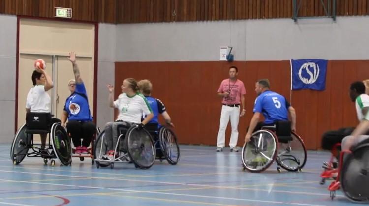 Handig met een bal? Probeer dan rolstoelhandbal! afbeelding nieuwsbericht