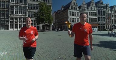 Afbeelding Eerste Virtual Special Olympics in België