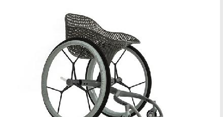 Deze design rolstoel is uit de 3D-printer gerold afbeelding nieuwsbericht