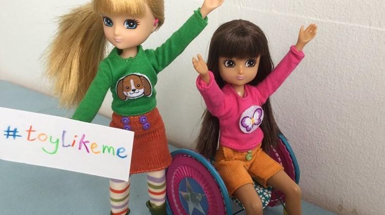 Deze speelgoedfabrikant maakt poppen met fysieke beperkingen afbeelding nieuwsbericht