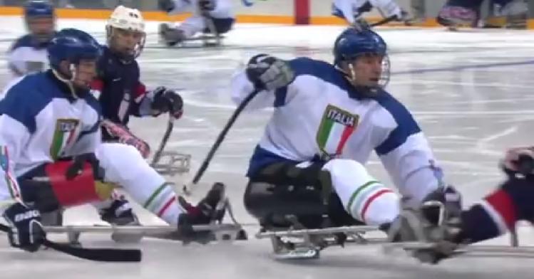 Ga gratis para-ijshockeyen afbeelding nieuwsbericht