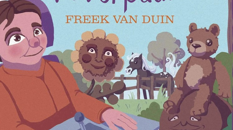 Freek schreef boek met rolstoeler als held afbeelding nieuwsbericht