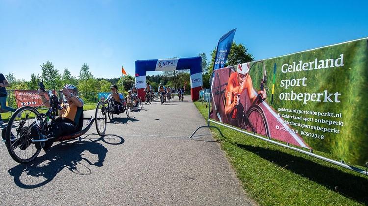 NTFU voert campagne voor deelname handbikers aan toertochten afbeelding nieuwsbericht