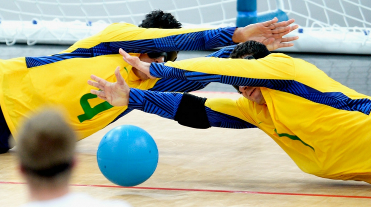 Goalball: teamsport zonder te kijken afbeelding nieuwsbericht