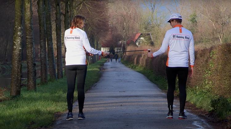 Blind hardlopen op 1,5 meter met de Co-Runner afbeelding nieuwsbericht