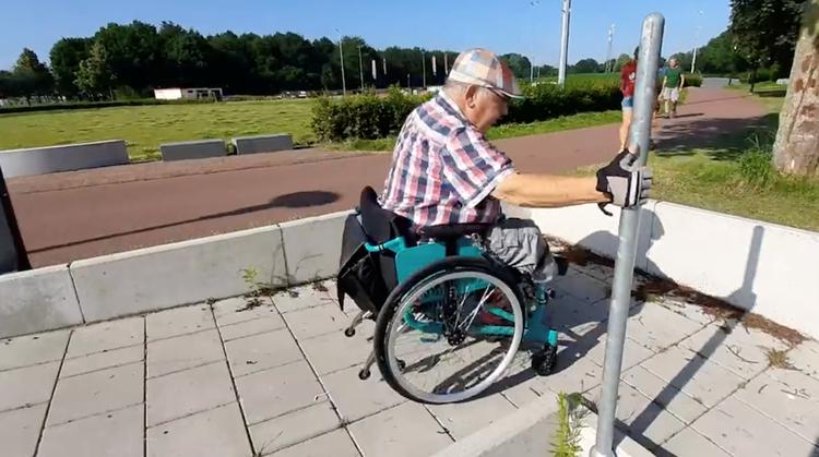 Eerste oefenpark voor rolstoelers geopend afbeelding nieuwsbericht