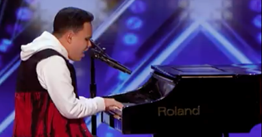 Afbeelding Kodi Lee schittert in America's Got Talent