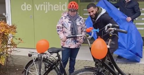Droom Yvette komt uit: leren fietsen! afbeelding nieuwsbericht