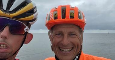 Afbeelding Arnoud fietste 300 km bij IJsselmeer Challenge