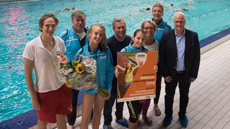 EsmeeAnne is 'Uniek Sporttalent 2018' in de categorie verstandelijke of meervoudige beperking! afbeelding nieuwsbericht